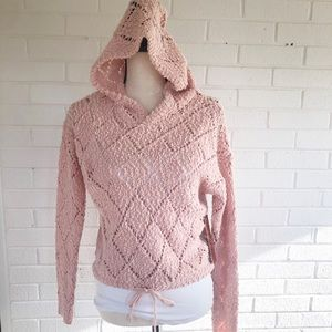Almost famous lightweight pink hoodie small
